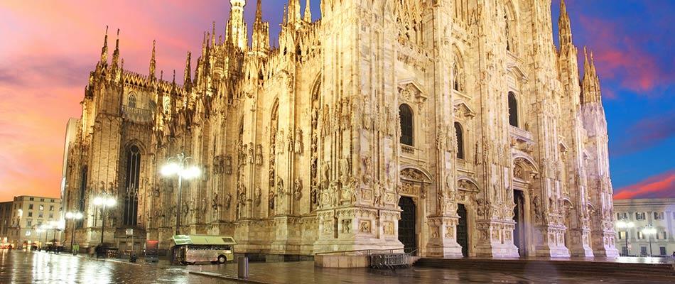 Noleggio auto city tour Milano